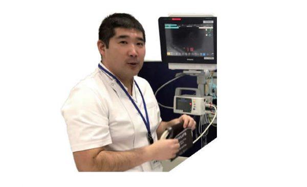 医療法人光川会 福岡脳神経外科病院 副看護部長 看護師 木場輪太郎さん