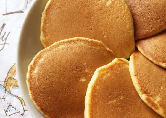 介護ナビレシピ! 休日の朝は ベジオのミニパンケーキ 2018年11月